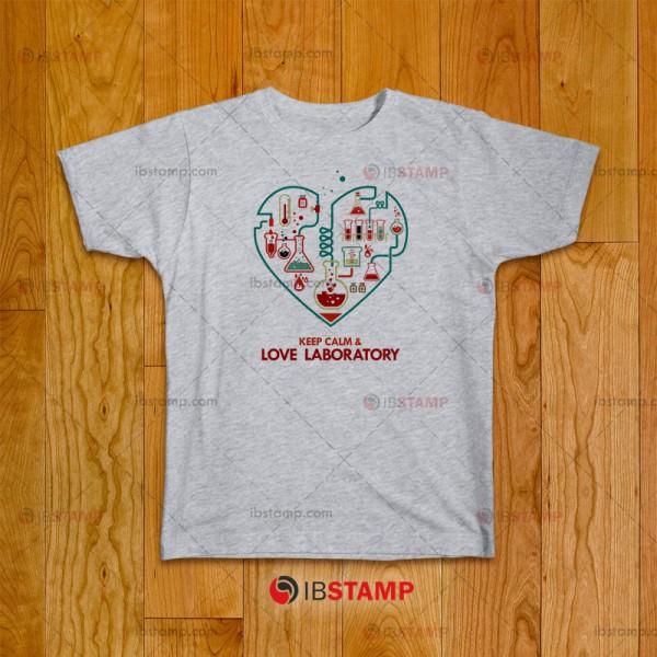 تی شرت طرح عاشق آزمایشگاه
