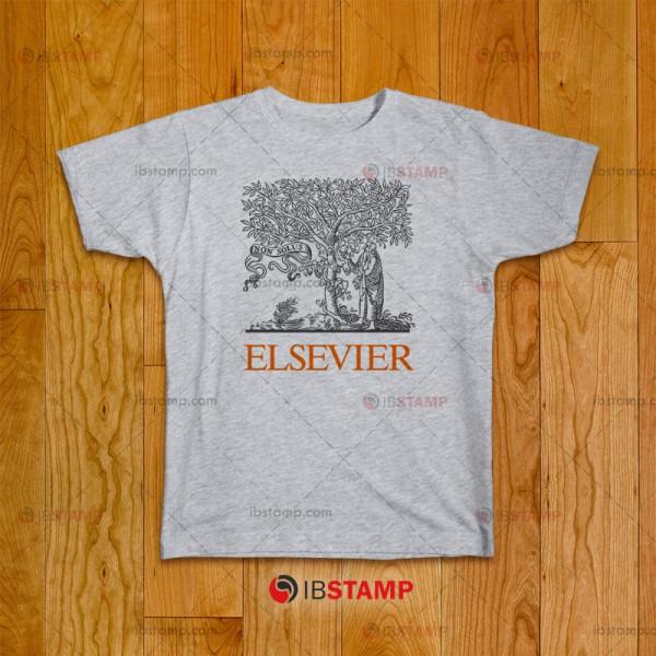تی شرت طرح Elsevier