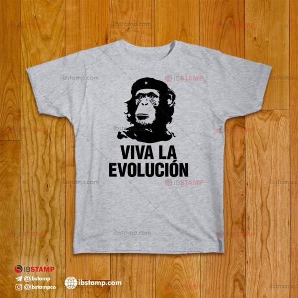 تی شرت طرح تکامل