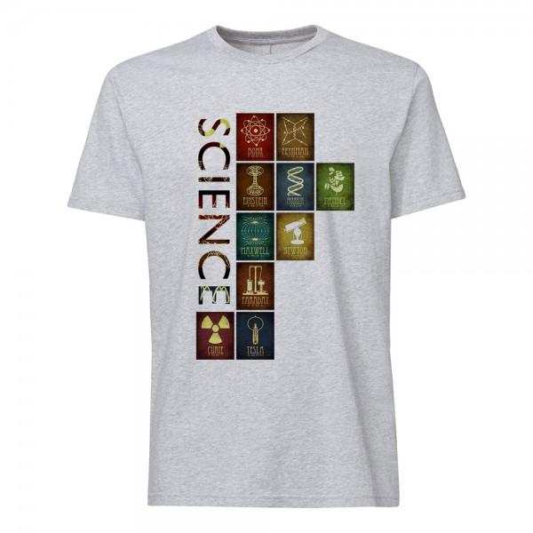 تی شرت  طرح Science -3