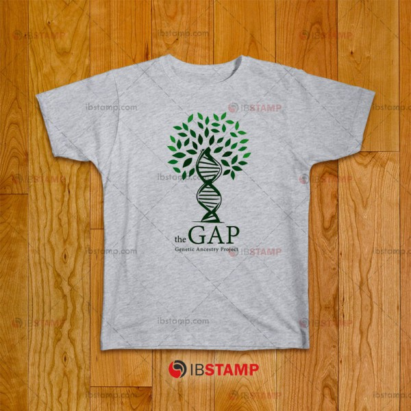 تی شرت  طرح The Gap