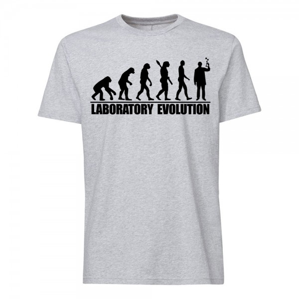 تی شرت طرح Laboratory Evolution
