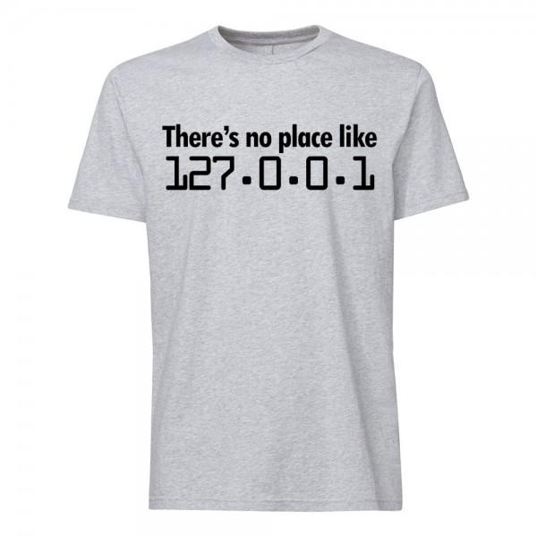 تی شرت طرح There's no place like 127.0.0.1