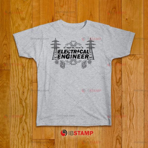 تی شرت طرح مهندسی برق