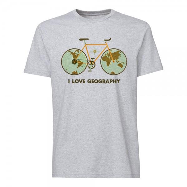 تی شرت  طرح I Love Geography