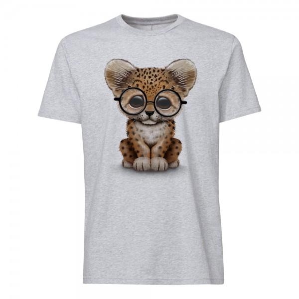 تی شرت طرح Cute Baby Cheetah
