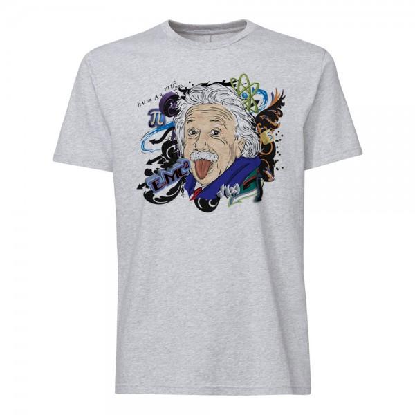 تی شرت  طرح انیشتین -1