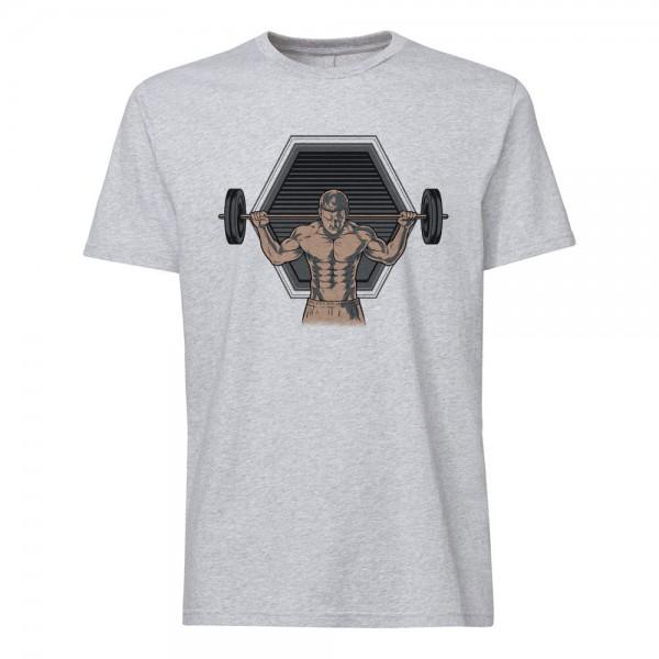تی شرت طرح بدنسازی -1