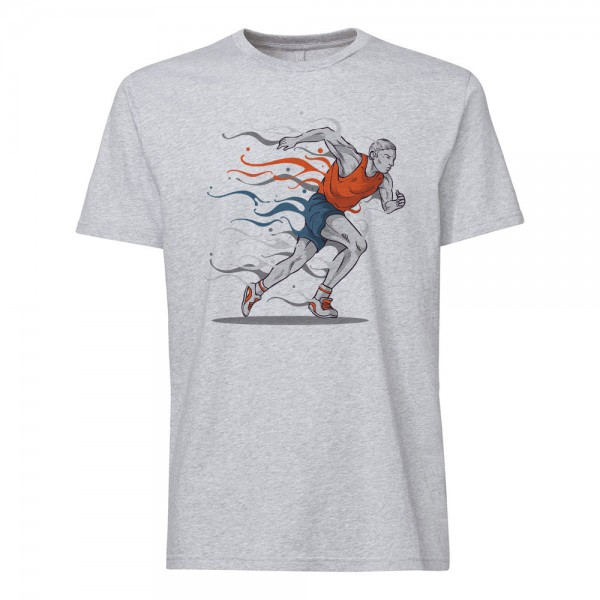 تی شرت طرح Running -1