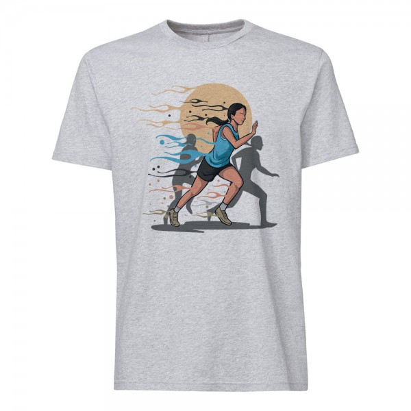 تی شرت طرح Running -2