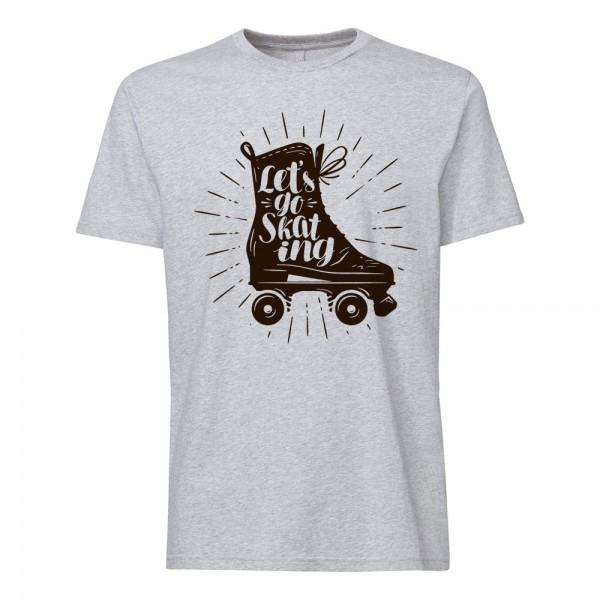 تی شرت طرح اسکیت -1