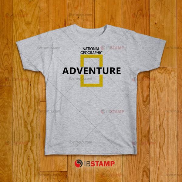 تی شرت طرح National Geographic Adventure