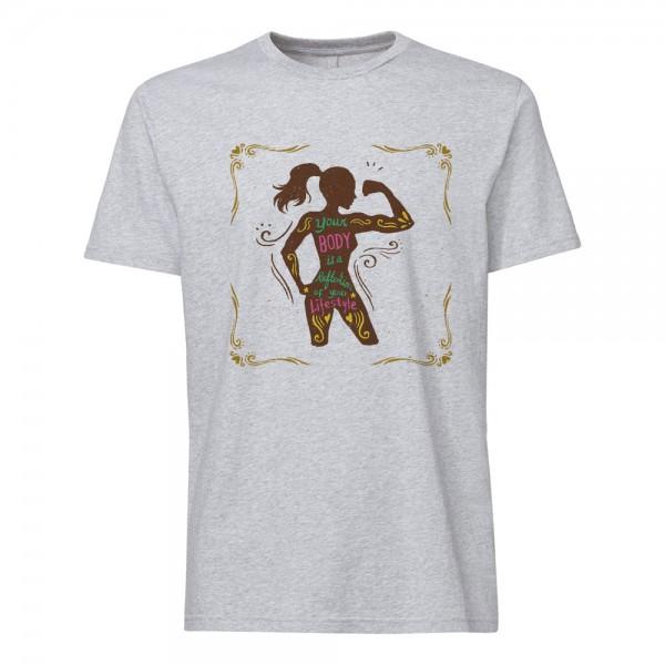 تی شرت طرح ورزش
