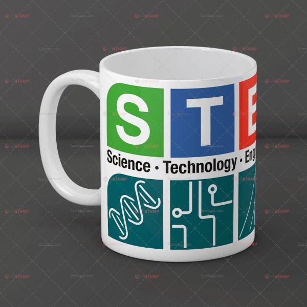 ماگ علمی طرح STEM -1