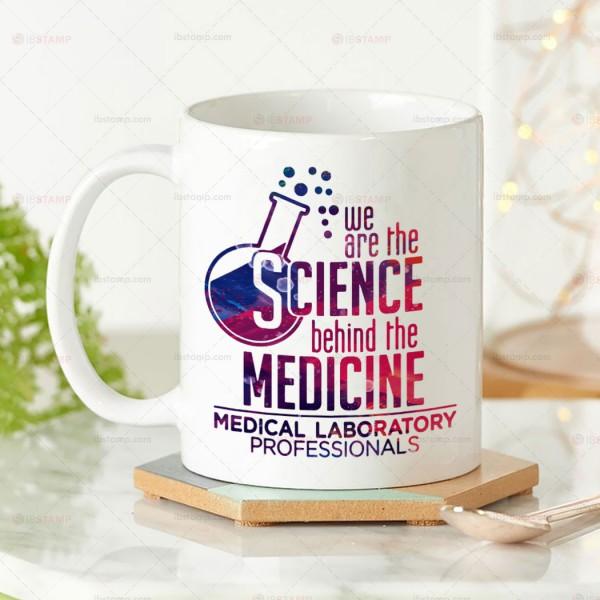 ماگ علوم آزمایشگاهی طرح We are The Science Behind The Medicine