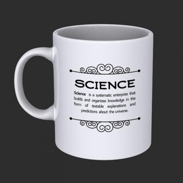 ماگ علمی طرح Science -3