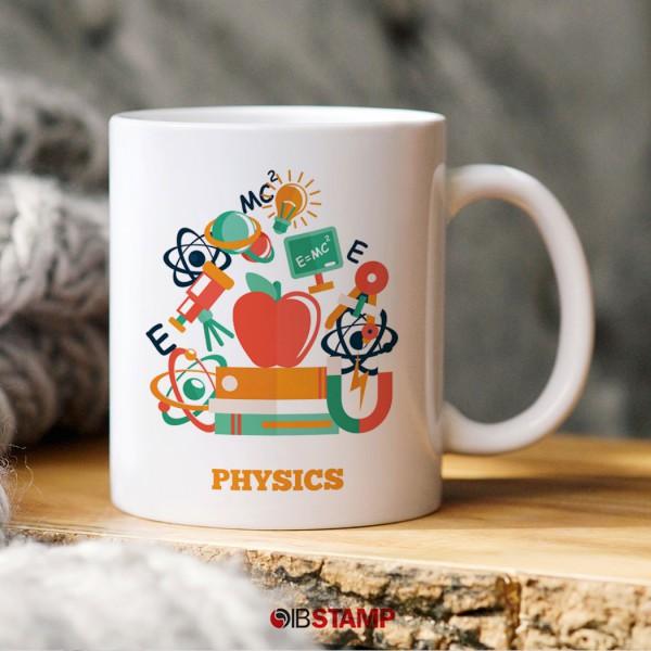 ماگ عاشق فیزیک