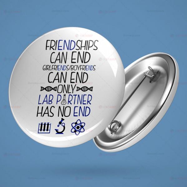 پیکسل آزمایشگاهی طرح Only Lab Partner Has No END